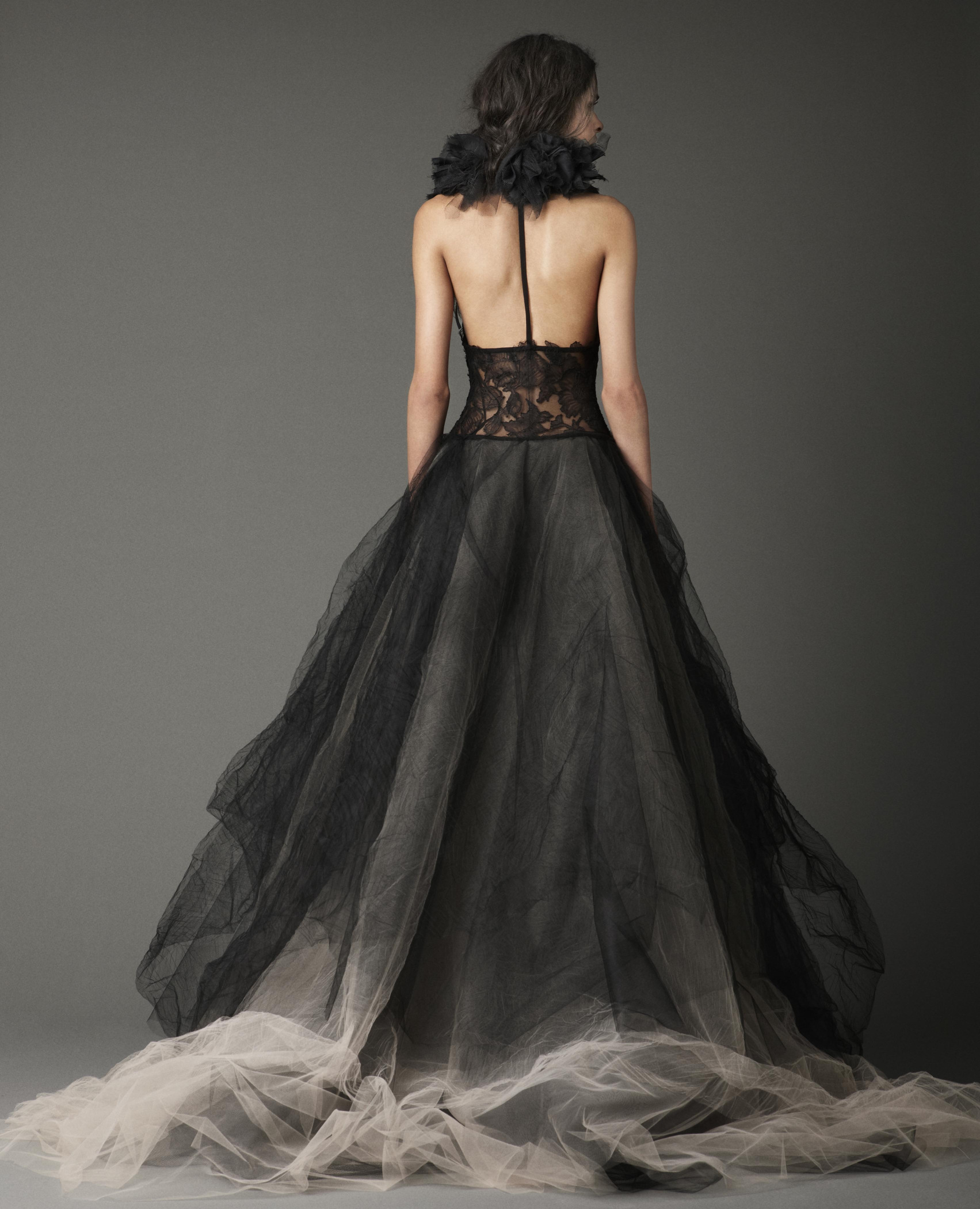 An au nce with Vera Wang it's all about the dress