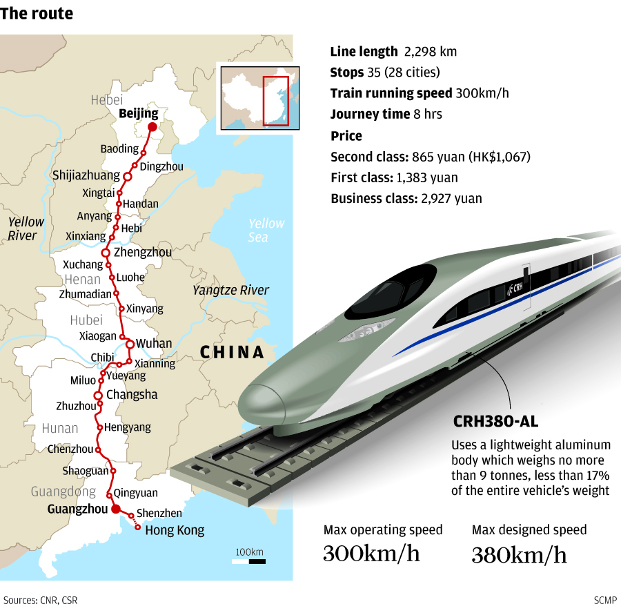 Food Takes A Back Seat On High Speed Train From Guangzhou
