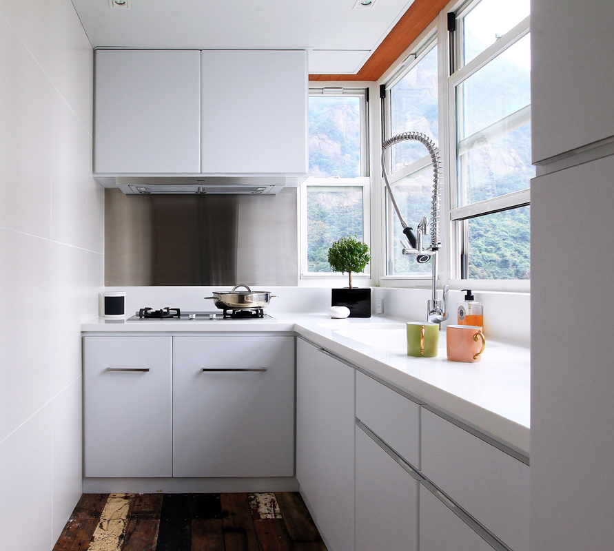 Kitchen The Kitchen Cabinets Were Installed By Hou0027s Contractor, Hui Ka Bun  (tel: 9251 5471), For HK$2,200 A Square Foot. The Tap (HK$20,000) Came From  Boffi ...