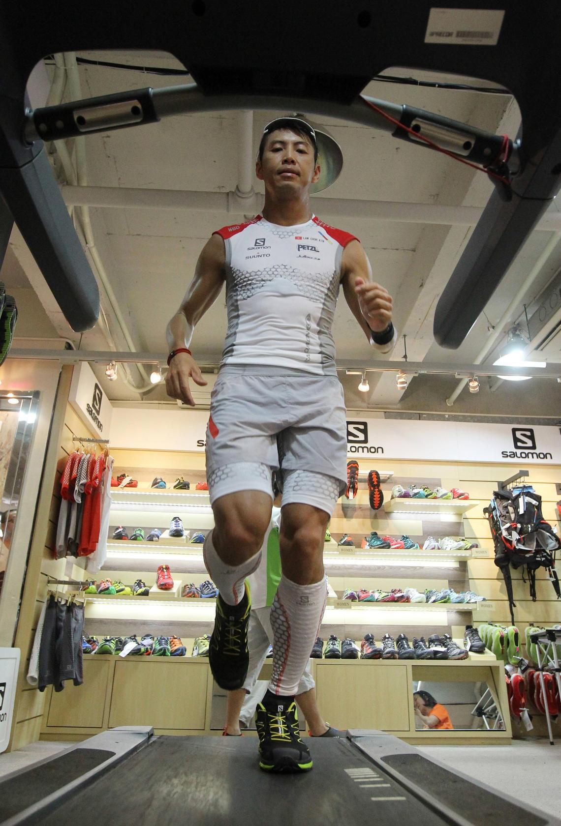 Ultramarathon News Podcasts: Hongkonger Law Chor-kin Prepares To Tackle Death Valley's