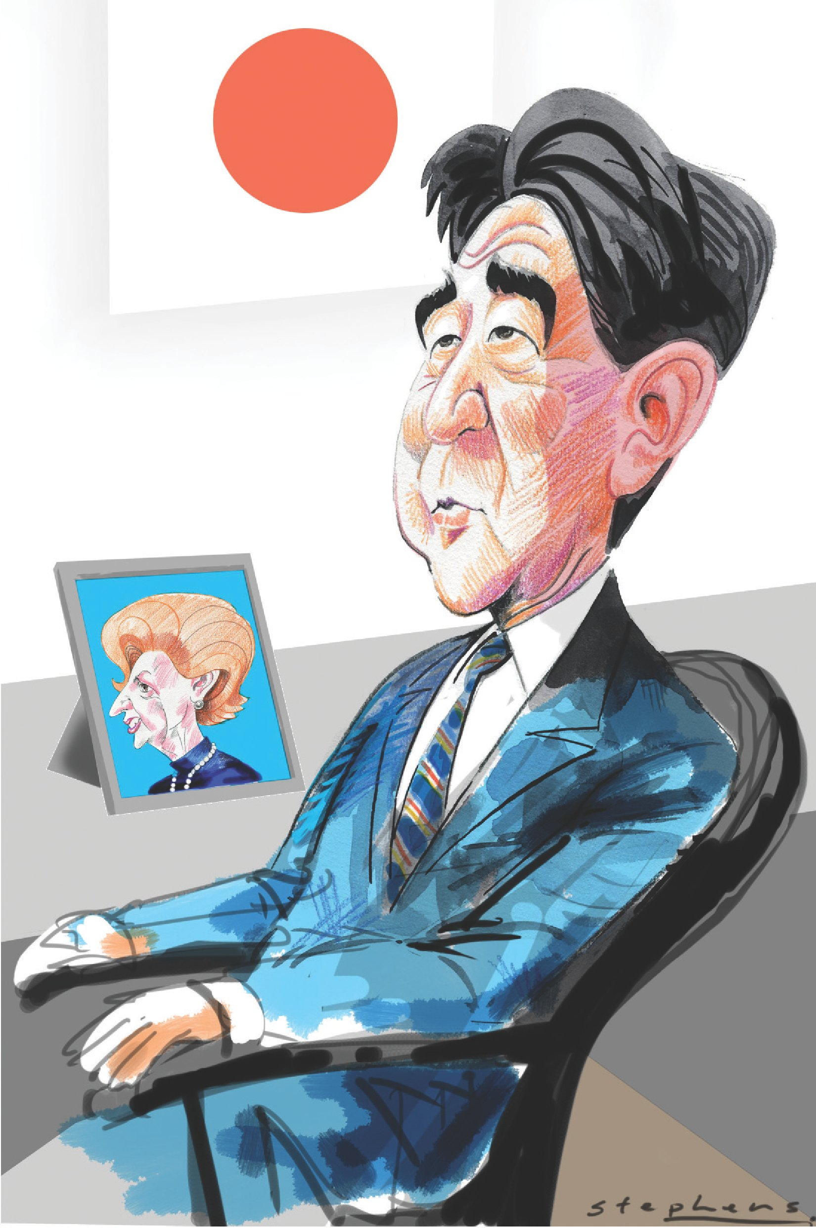 shinzo abe set to reshape japan with conservative agenda