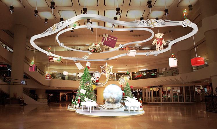 No Expense Spared As Hong Kong S Shopping Malls Unveil Christmas Decorations South China