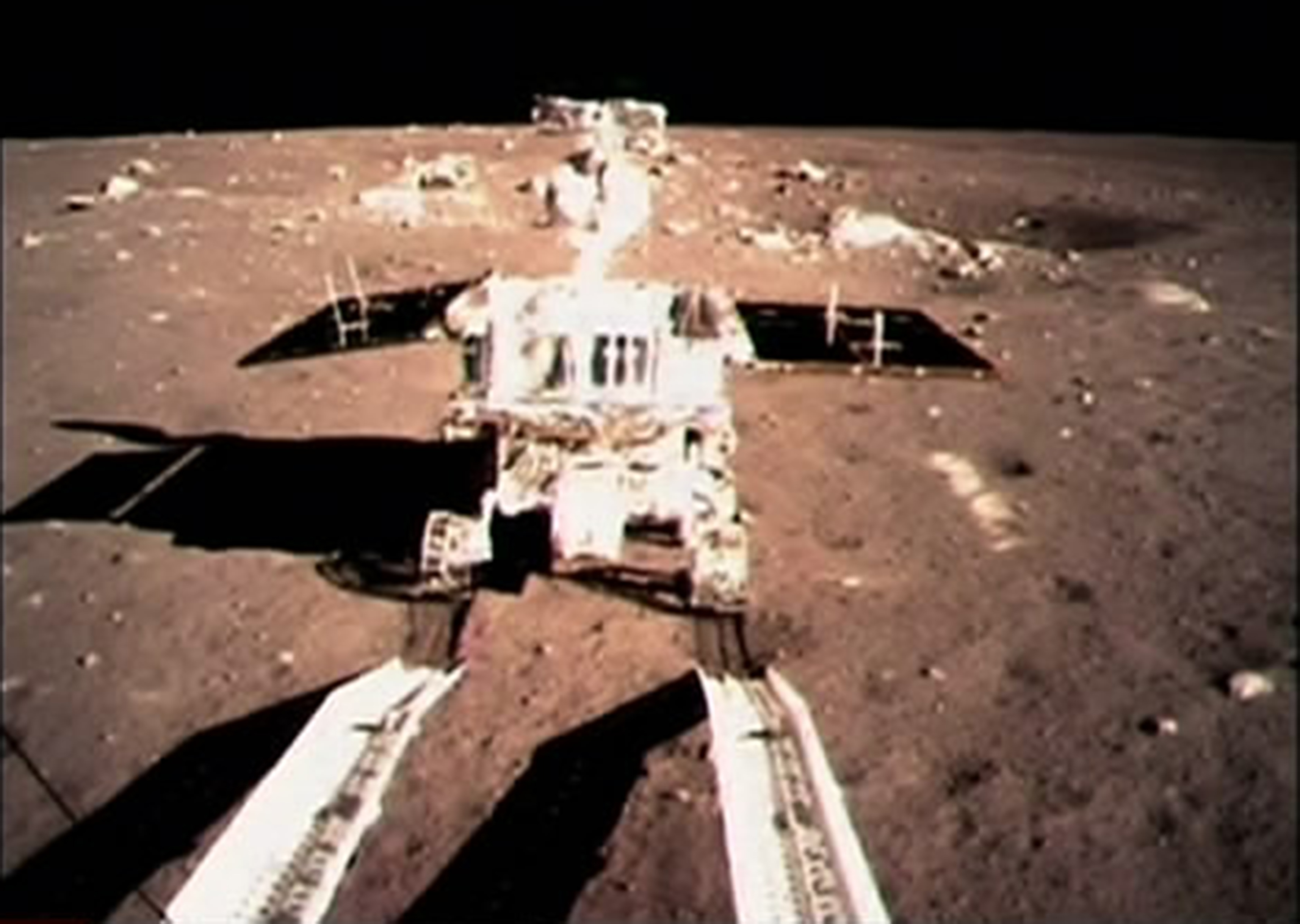 chinese spacecraft lands on moon - photo #2