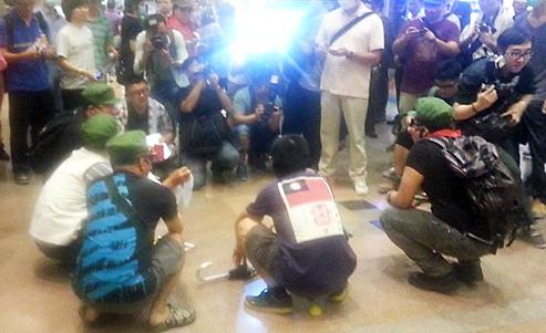 Hong Kong protesters who mocked urinating mainland toddler