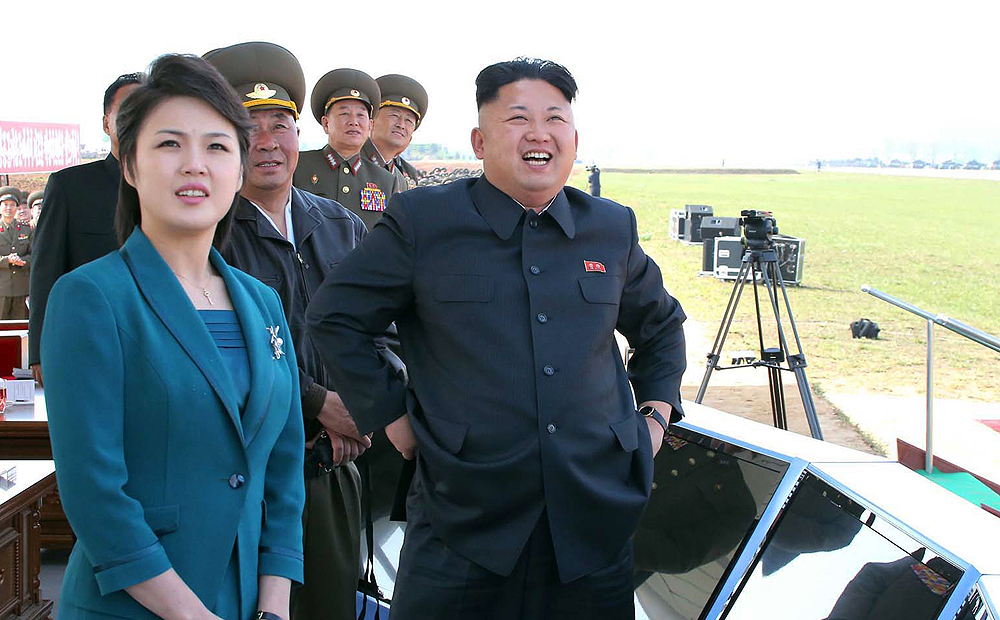 Image result for  Kim Jong-un AND Wife