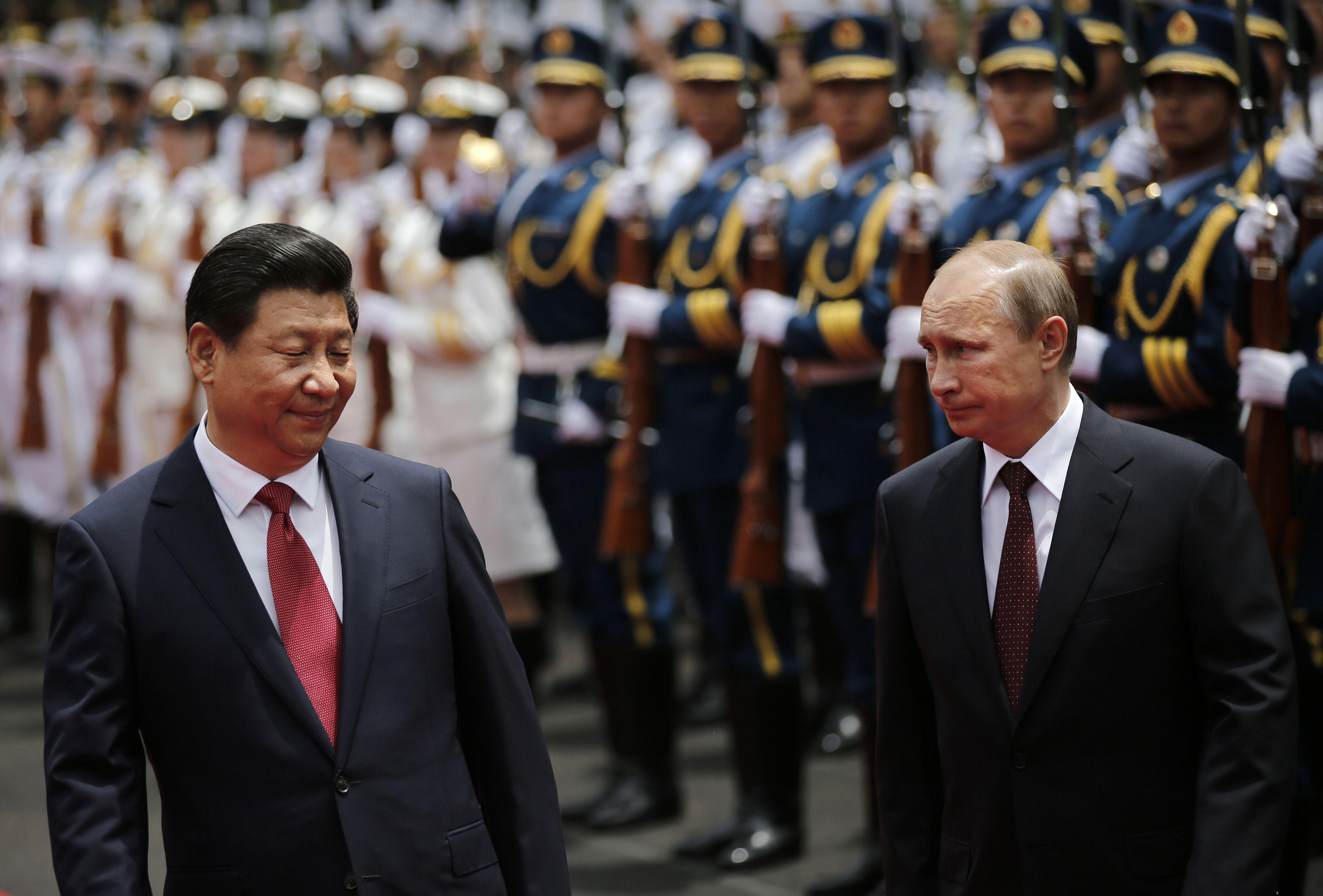 Xi Visits Russia China Russia Diplomacy Cb