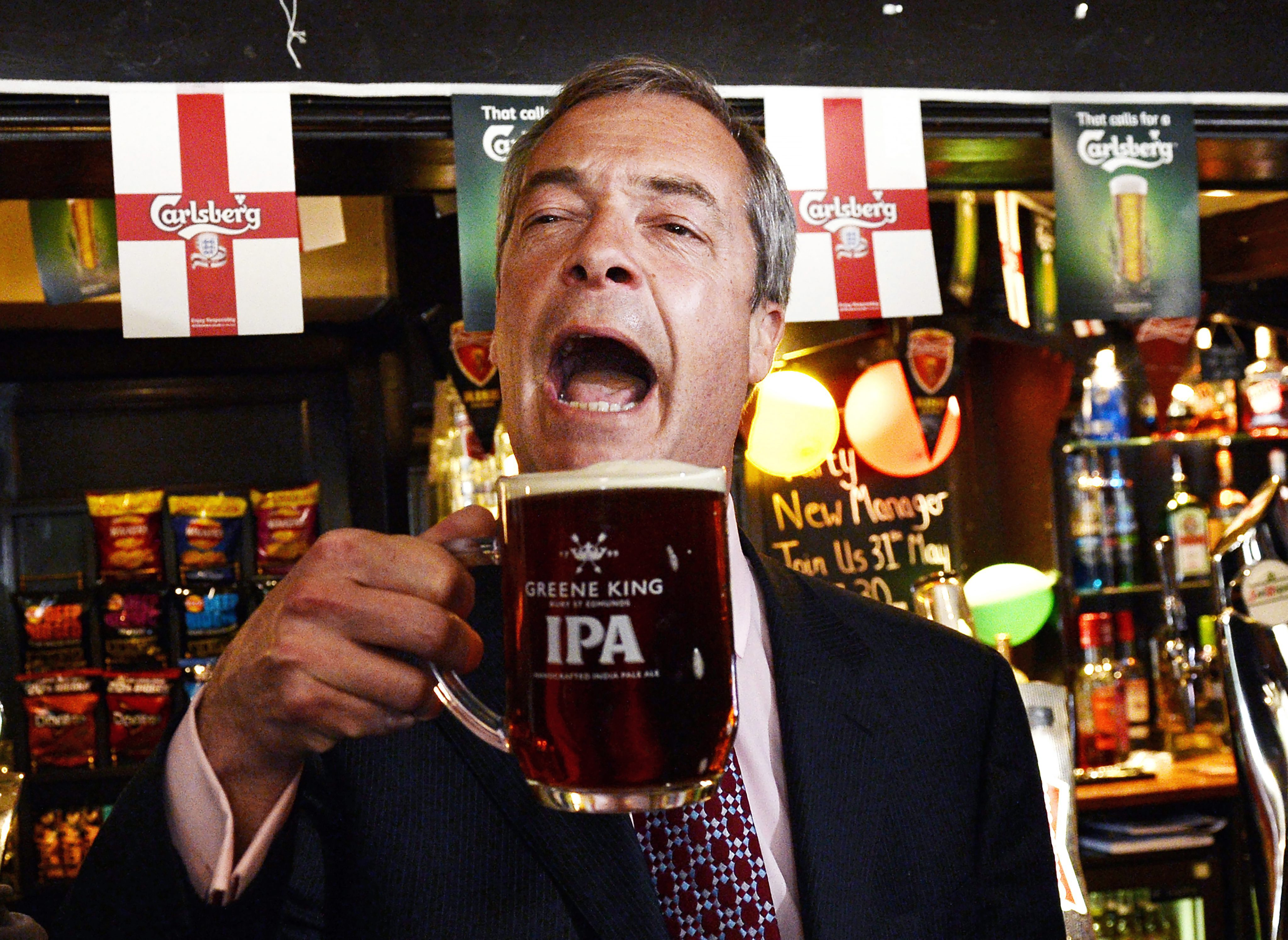 Britain S Anti Immigration Party Ukip Surges In Local