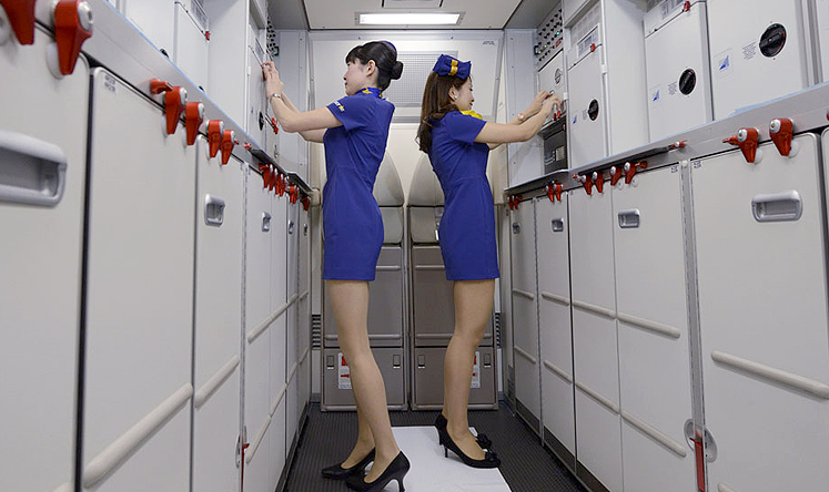 Gender neutral word for stewardess sexual harassment