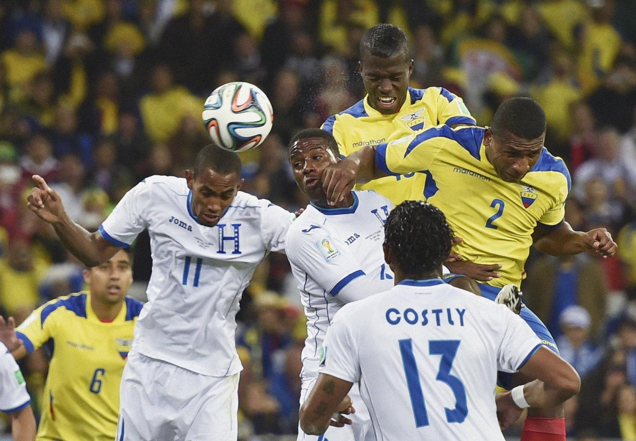 Enner Valencia seizes limelight for bative Ecuador