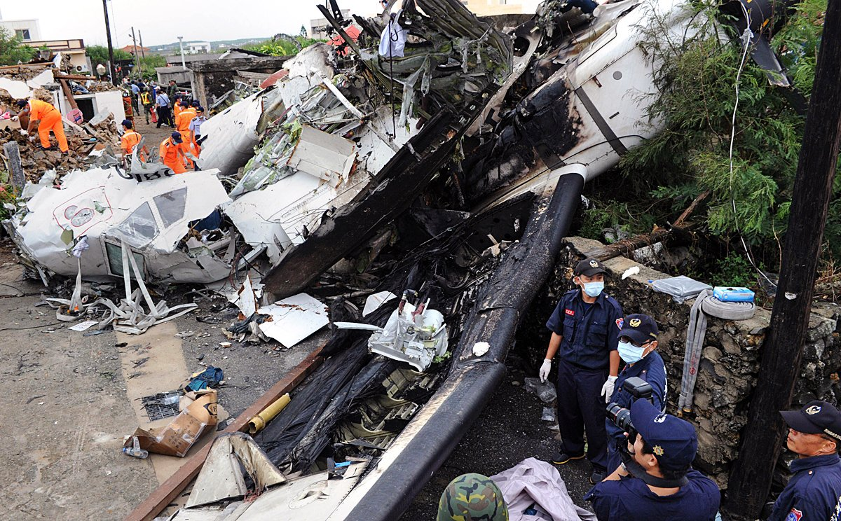 Taiwanese officials defend letting TransAsia plane fly in wake of.