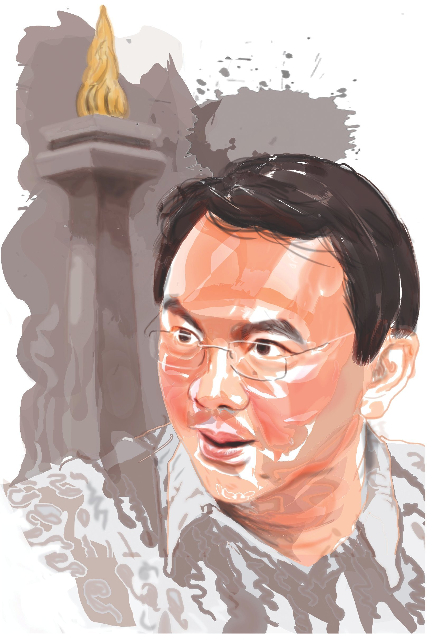 Jakartas first ethnic chinese governor ahok a break with the past illustration grant robertson stopboris Gallery