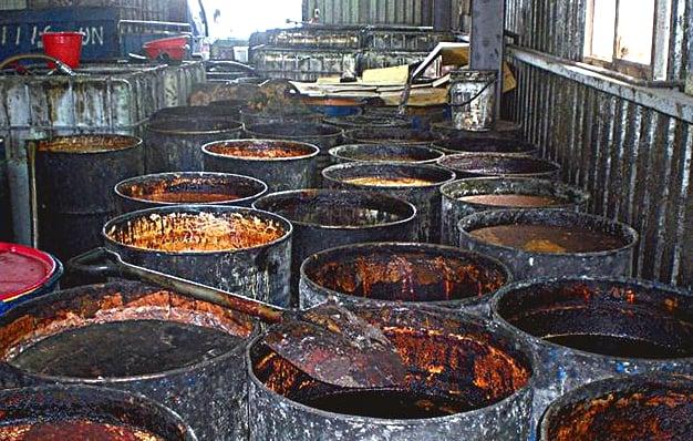 Những vụ việc liên quan đến dầu ăn bẩn ảnh 1
