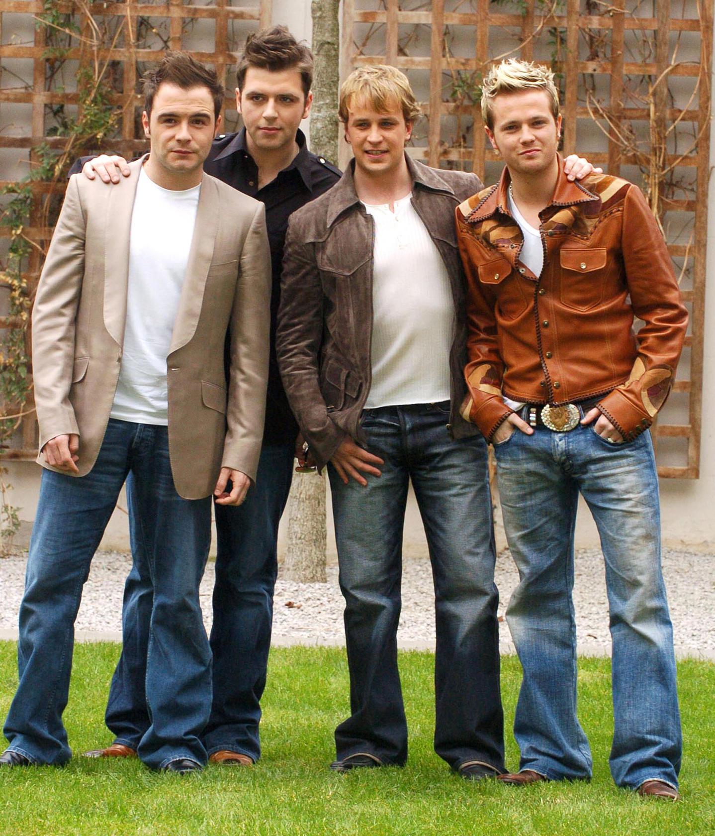 Former Westlife member Shane Filan loves singing, but sees