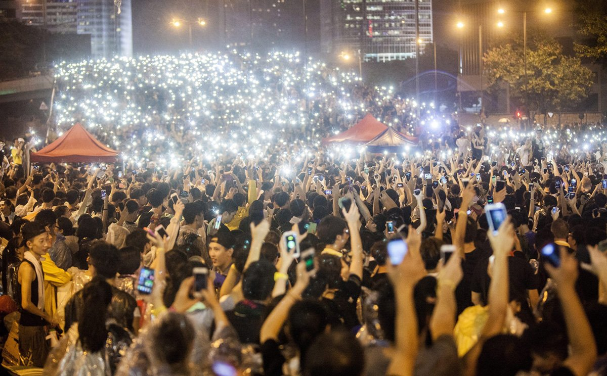umbrella revolution Nathan law, a student leader of hong kong's mass 'umbrella revolution' democracy rallies two years ago, is now at the forefront of a new guard of young lawmakers pushing for autonomy from china.