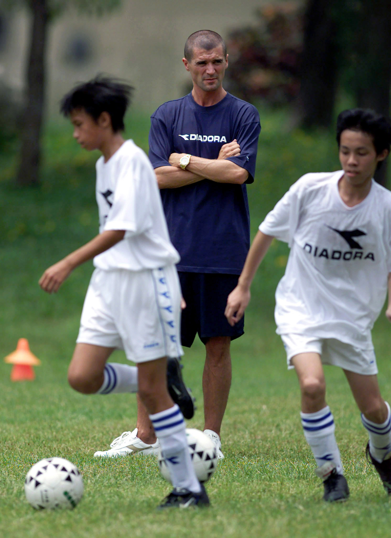 Asian soccer lad serviced