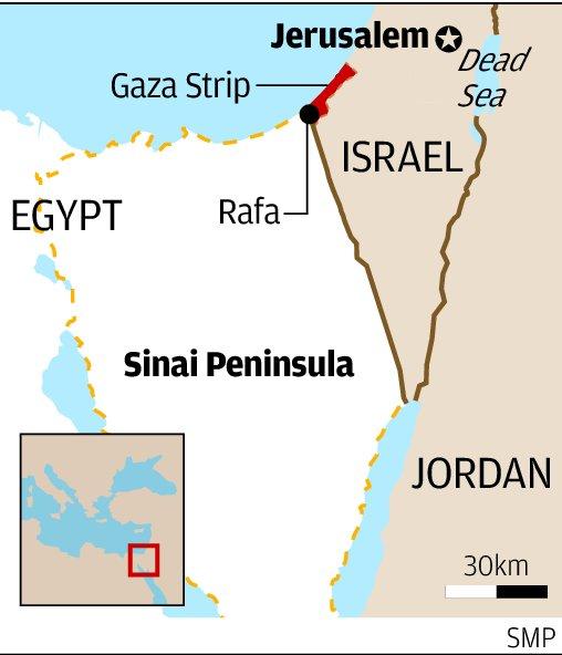 Emergency rule declared in Egypt's Sinai Peninsula after bomb kills