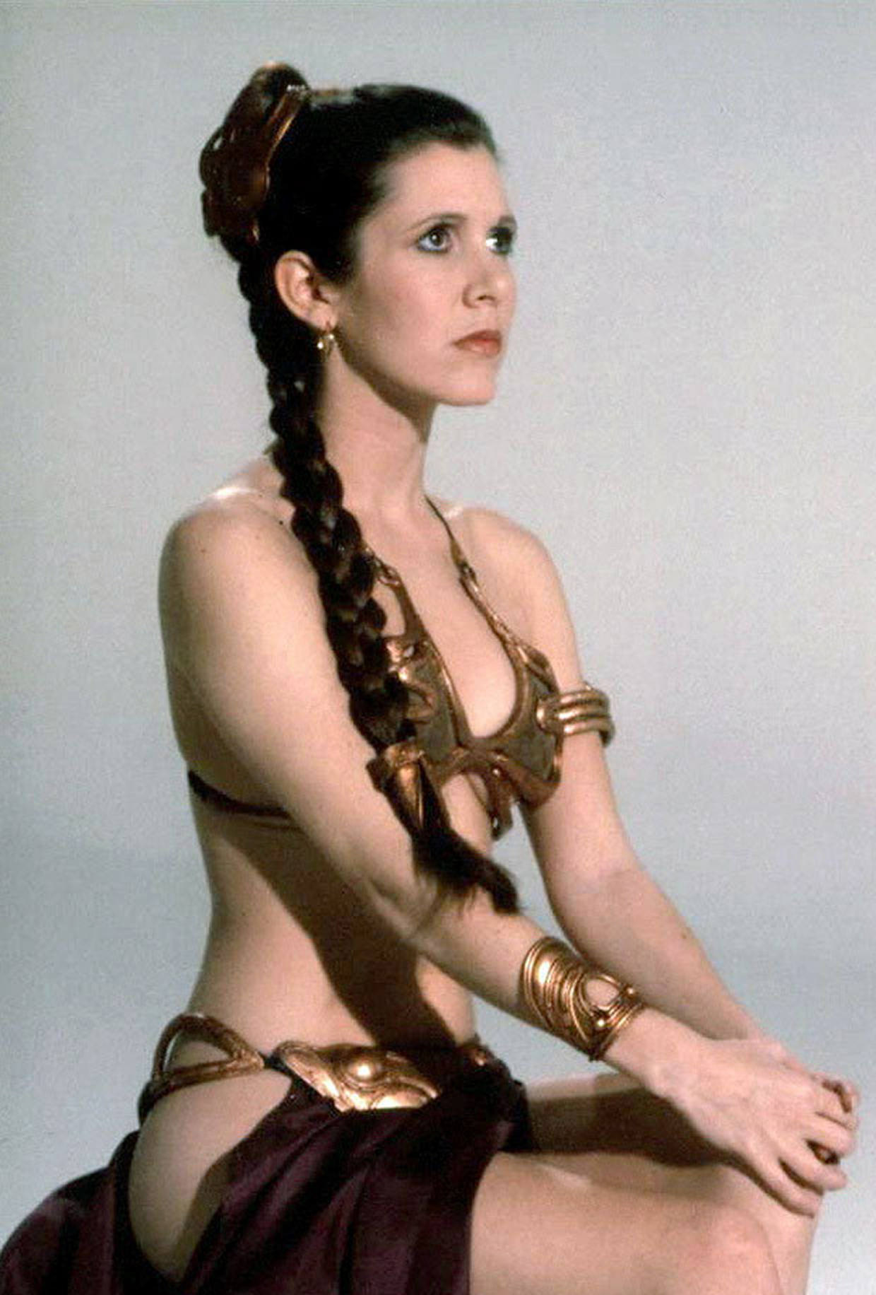 Carrie fisher bikini pics not pay