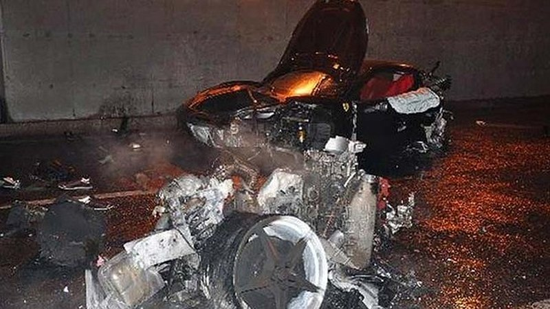 Ling Gu death in Ferrari crash covered up by Chinese