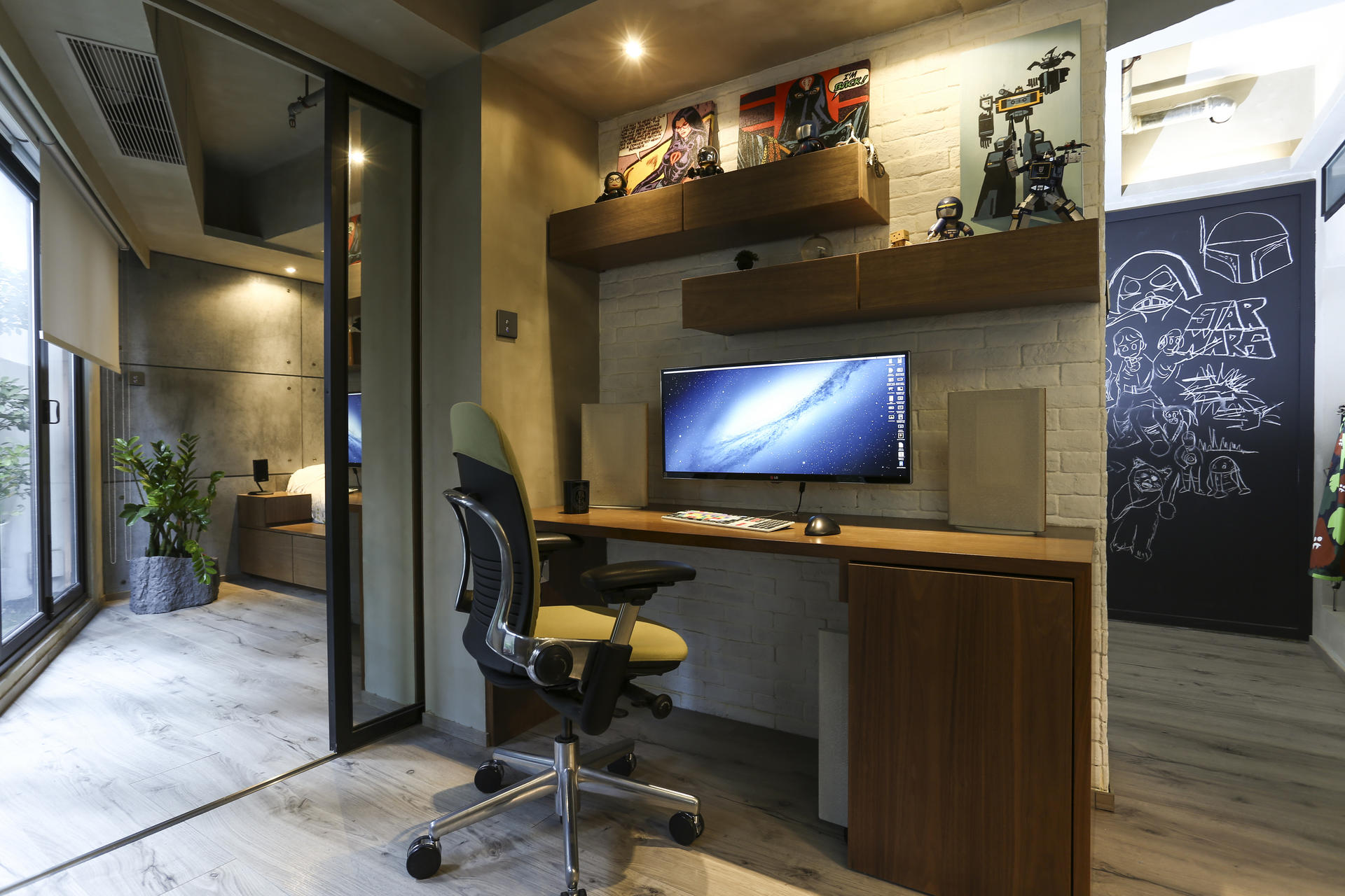 Industrial Style Meant Hard Work For Hong Kong Flat Owner