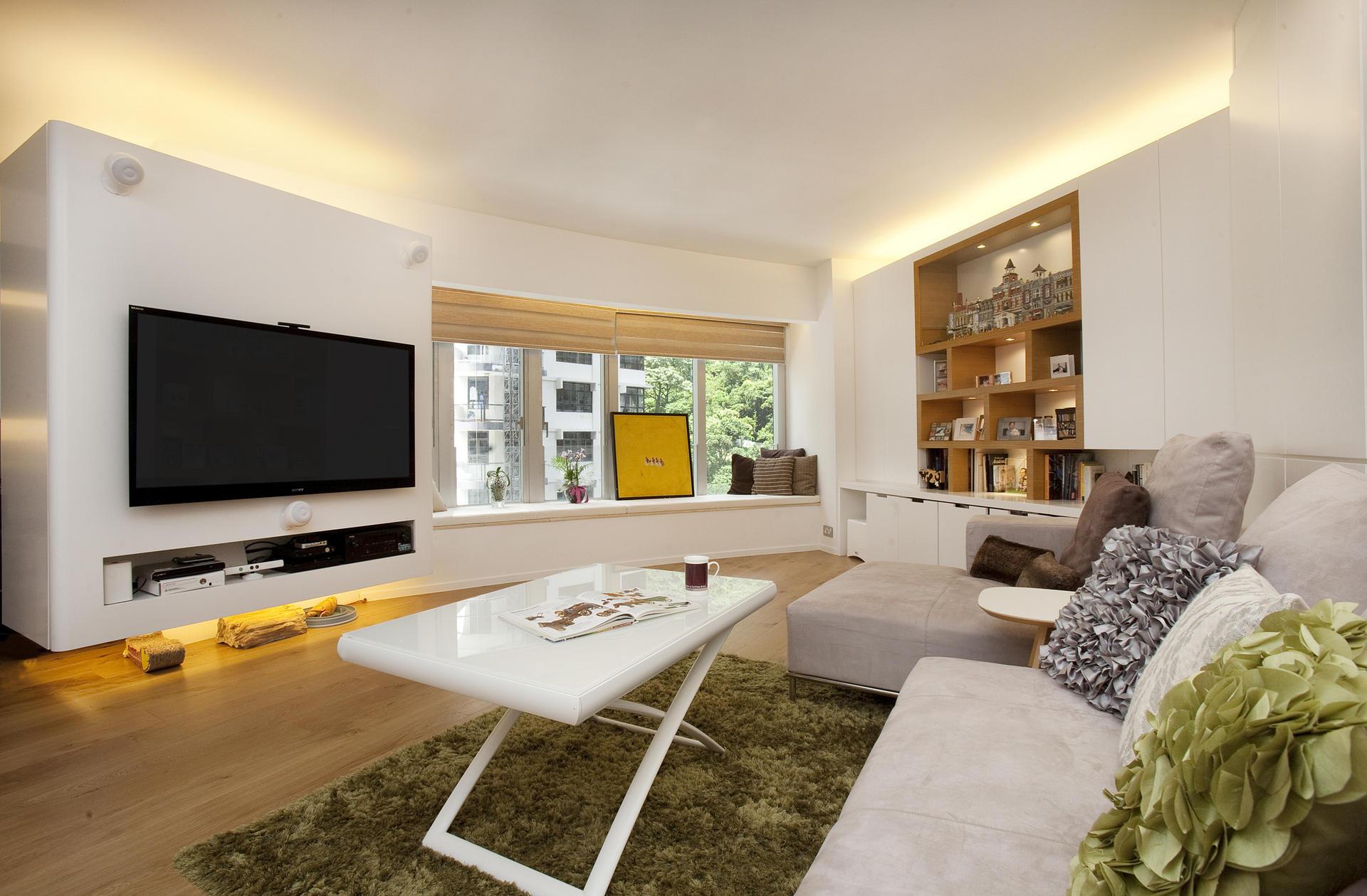 Hong Kong Couples Loft inspired High rise Flat A Design