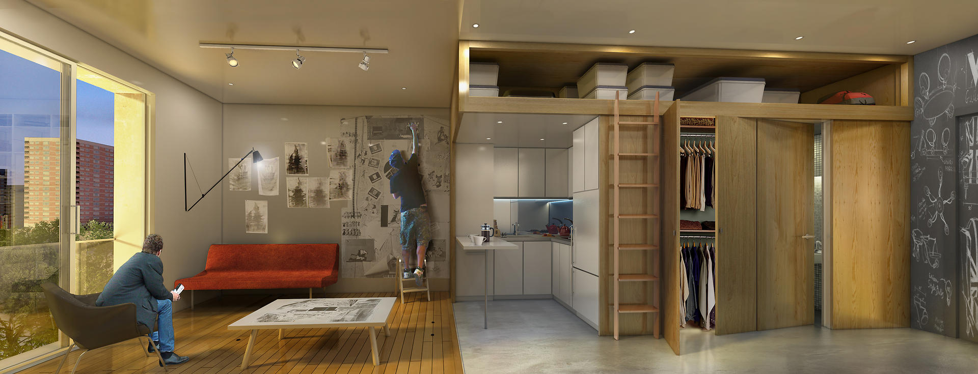 Hong Kong style Microflats Arrive In The US South China