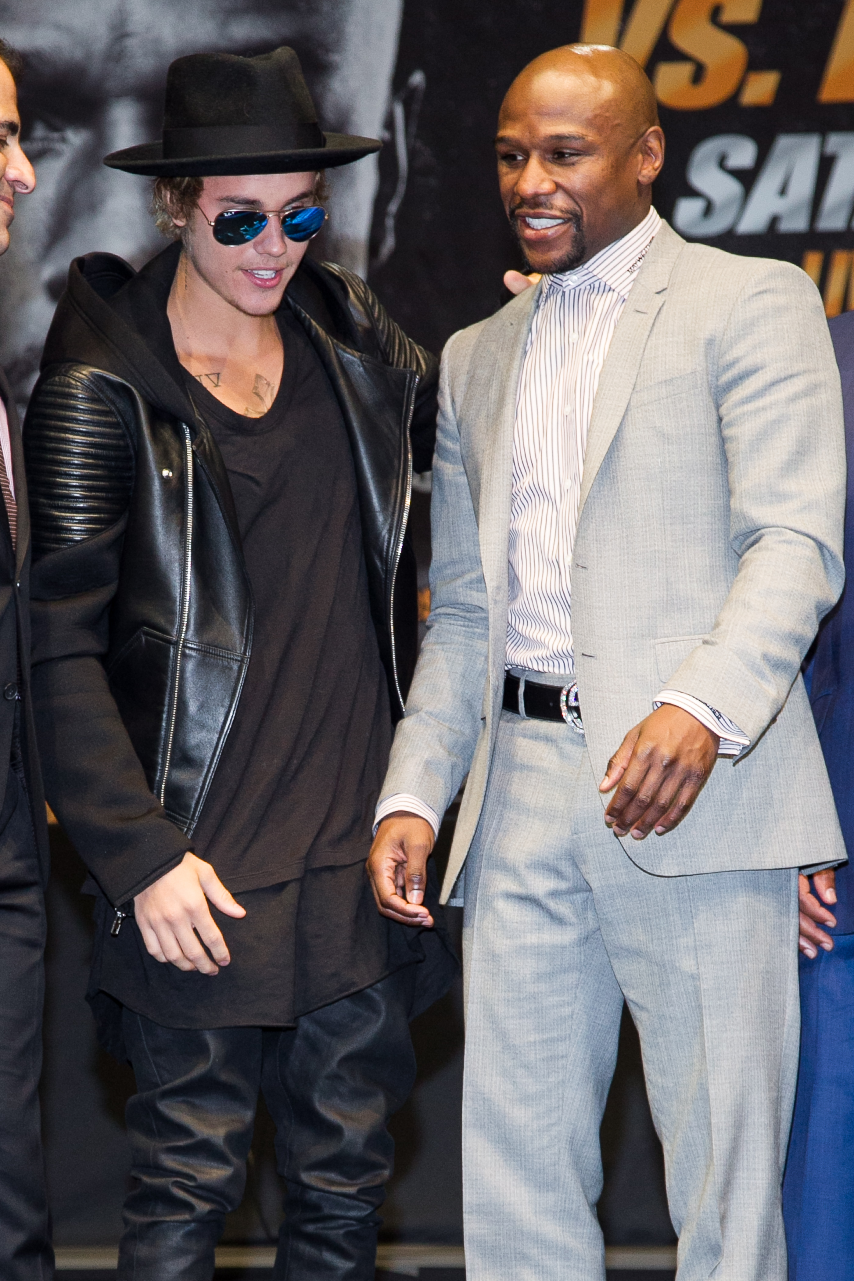 Pacquiao and Mayweather face off in Hollywood | South China Morning Post