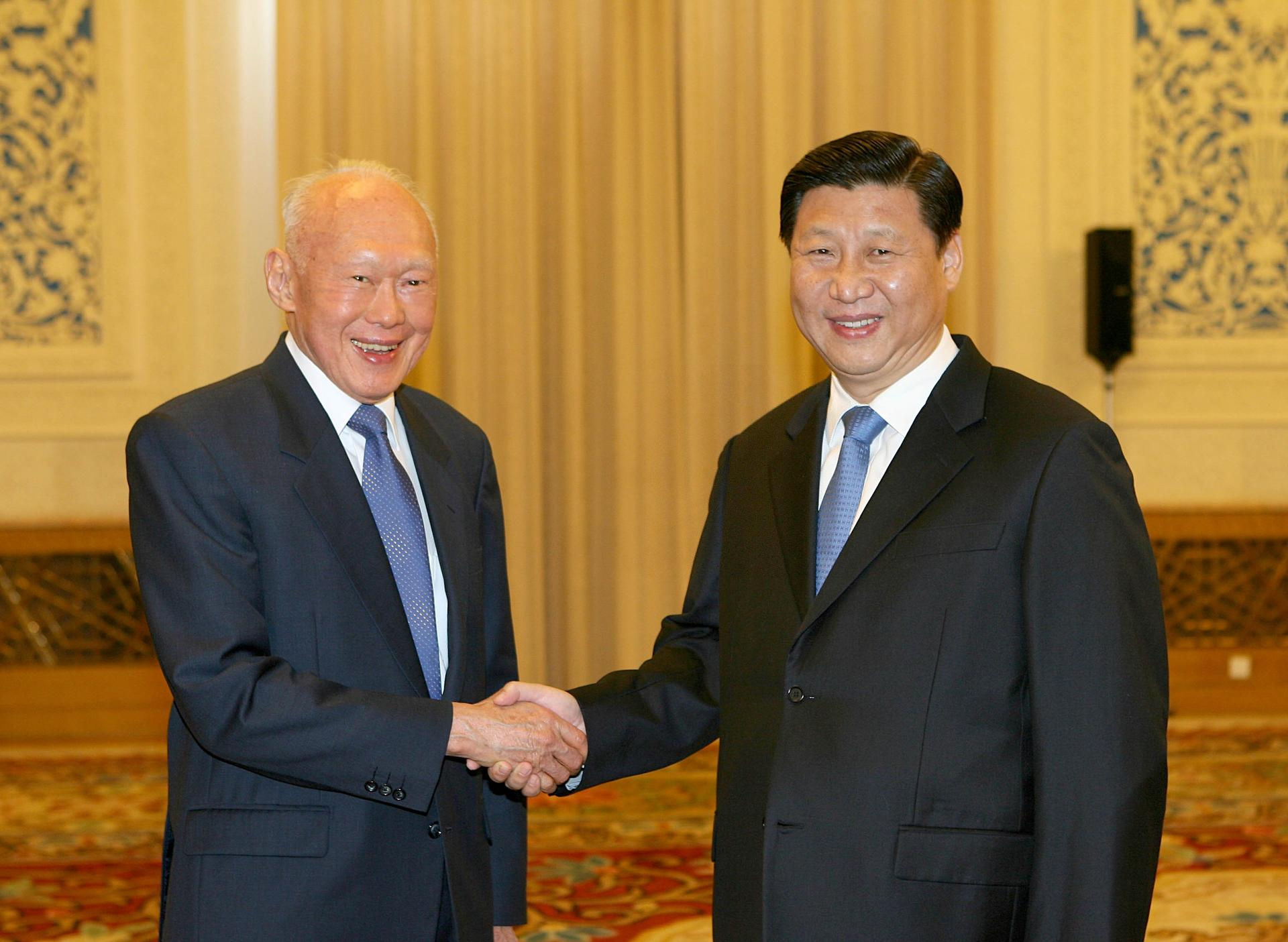 Image result for deng xiaoping and lee kuan yew