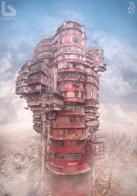 Character Design Hong Kong : Apocalypse kowloon artist creates dystopian world based