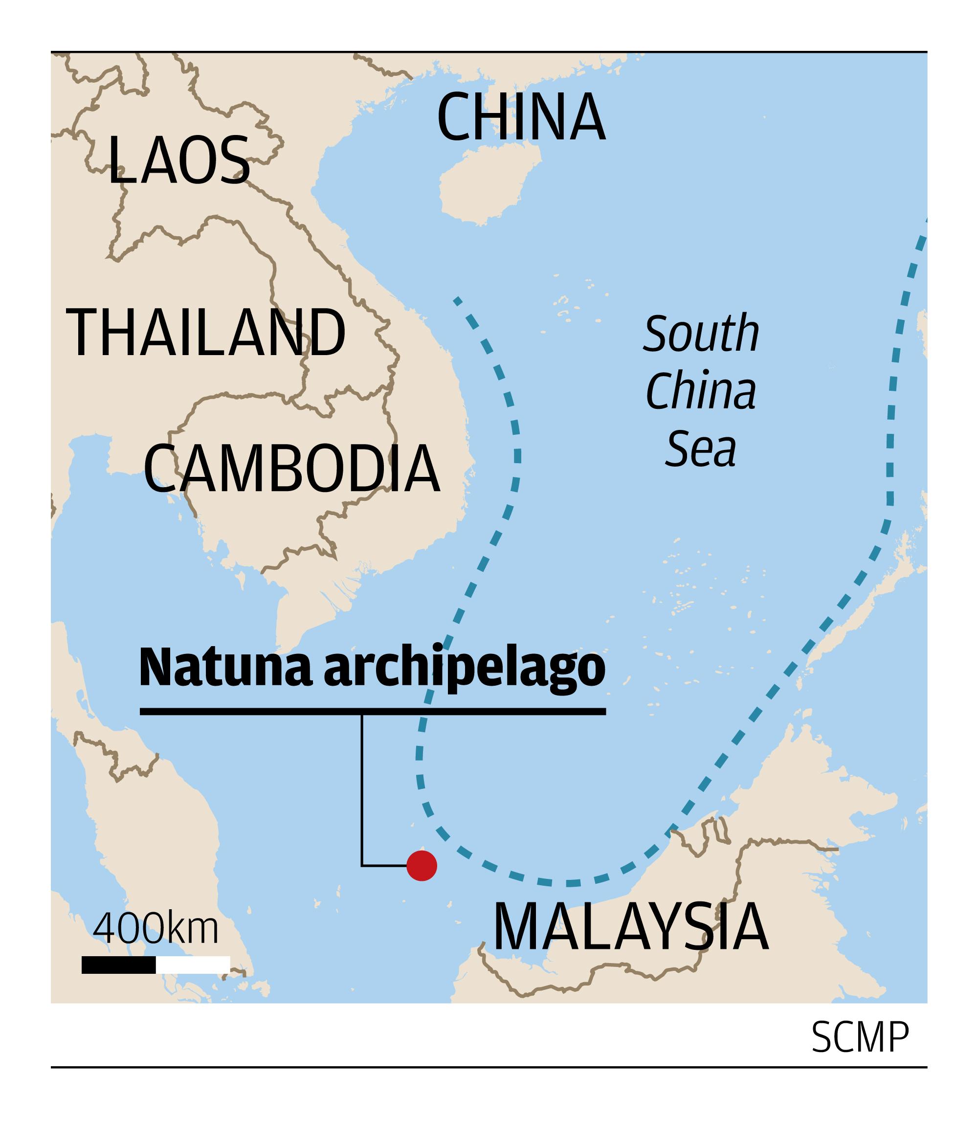 أسطول غواصات محلية.. طموح إندونيسي تحكمه صراعات بحر الصين الجنوبي Indo-mili-map