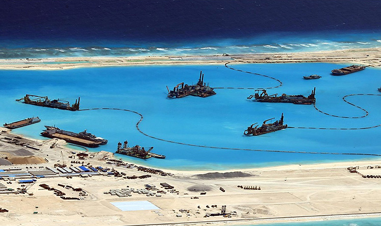 Pentagon accuses Beijing of accelerating land reclamation ...