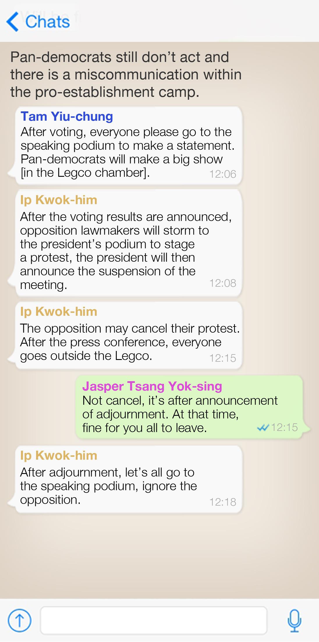 Legco president Jasper Tsang refuses to quit as leaked