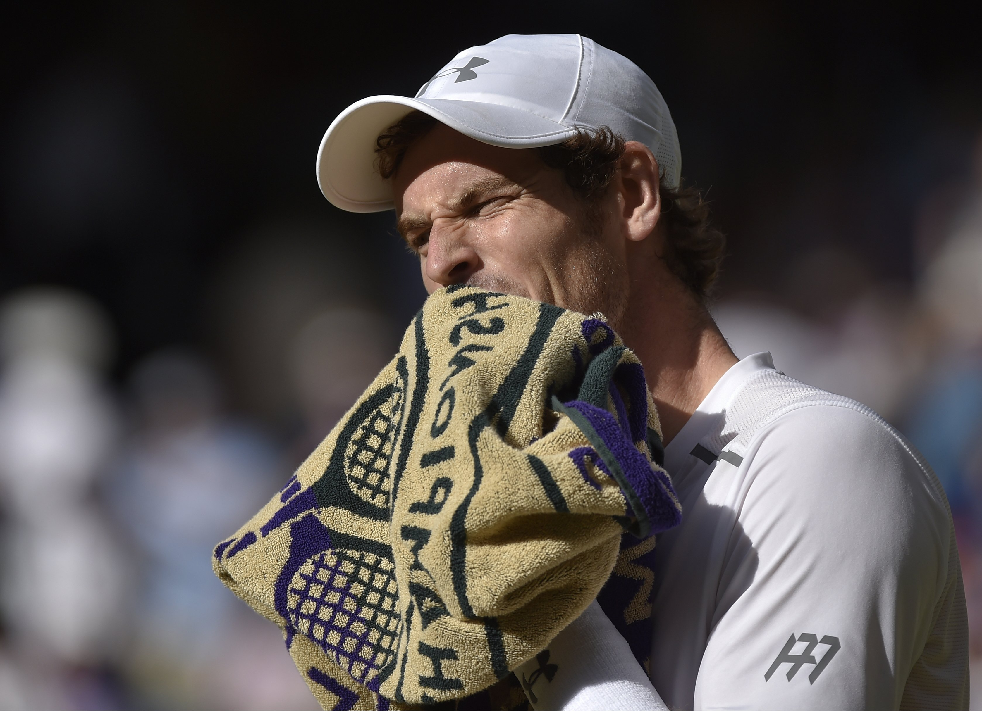 Federer Not Happy With Murray Britain Wimbledon Tennis Wim