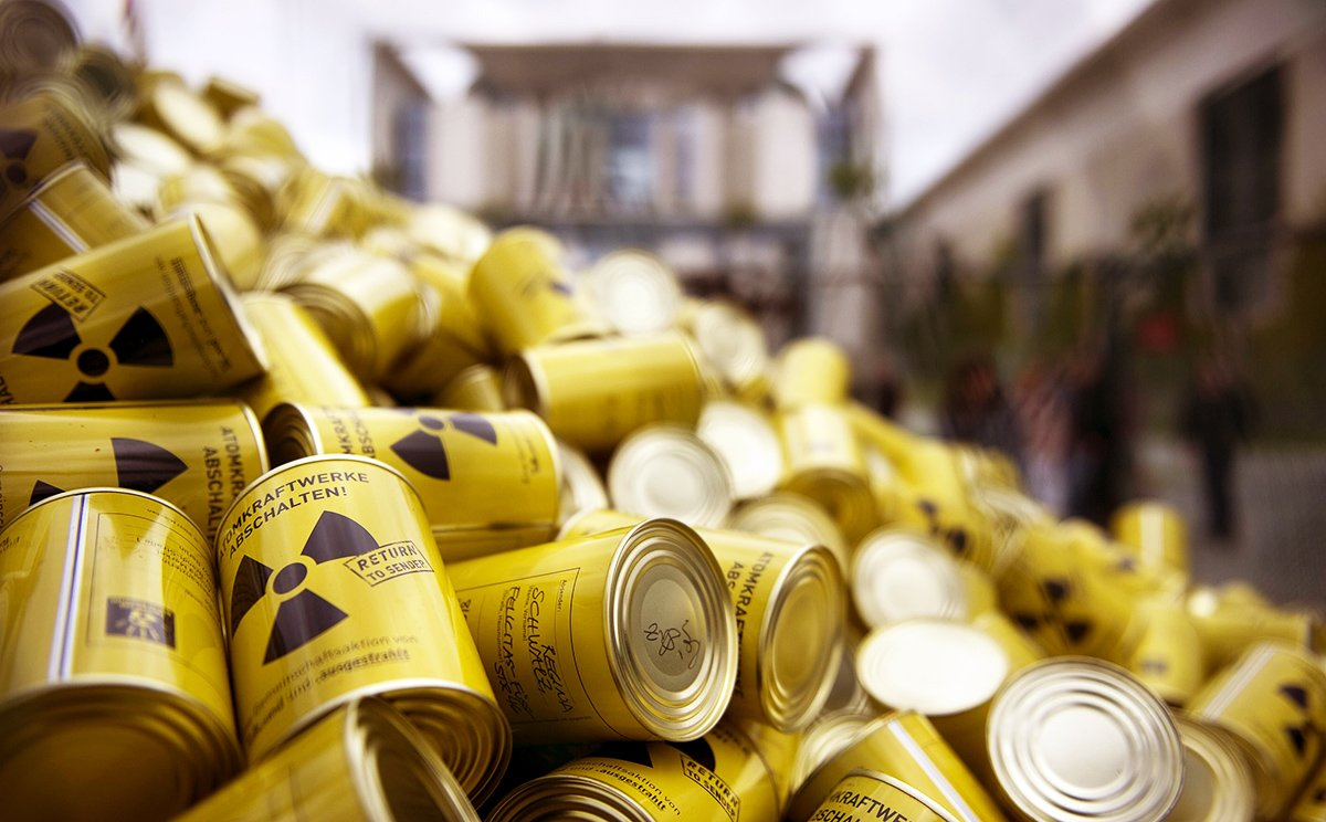 Image result for nuclear waste