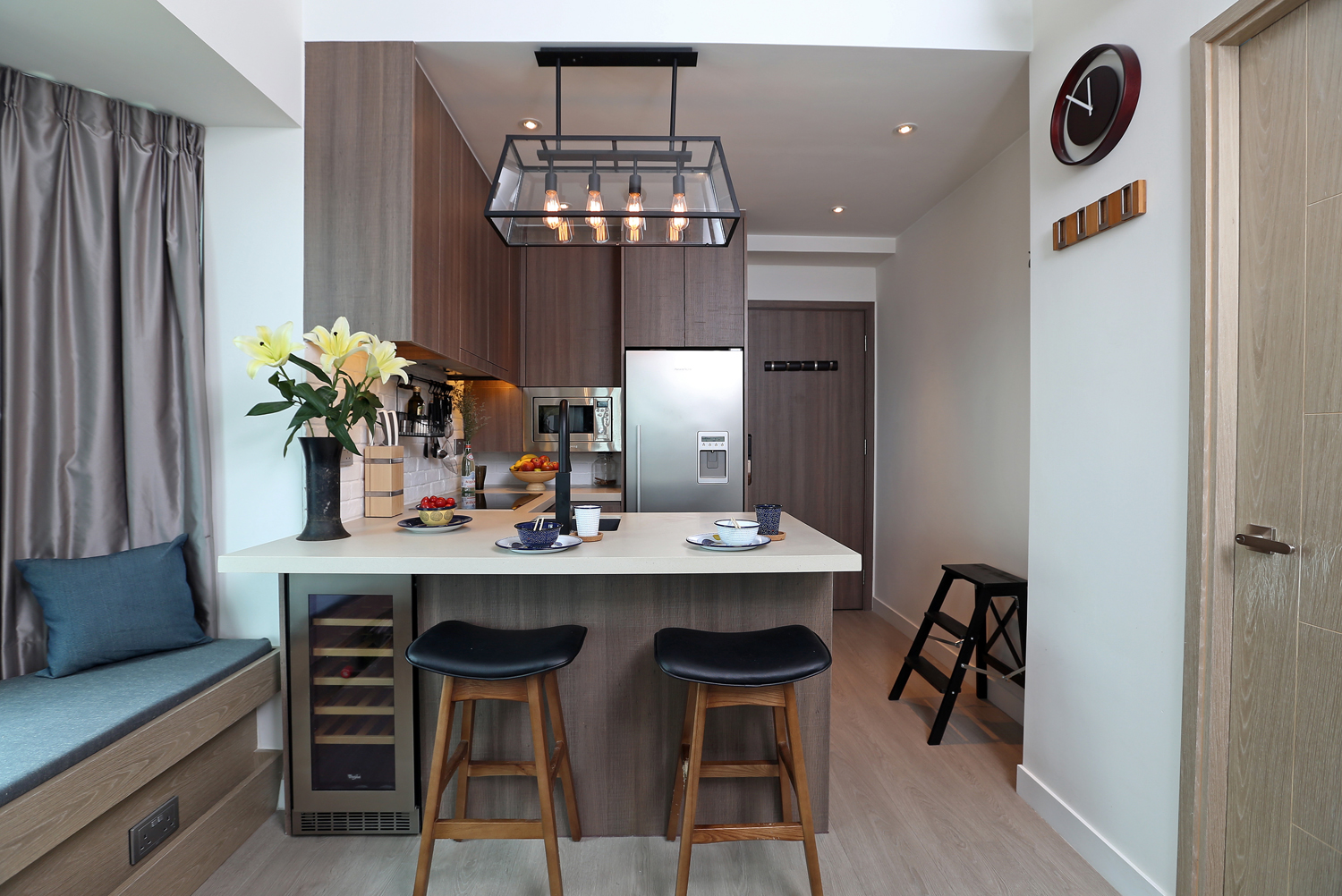 How A 480 Sq Ft Hong Kong Flat Became A Trendy Urban Home