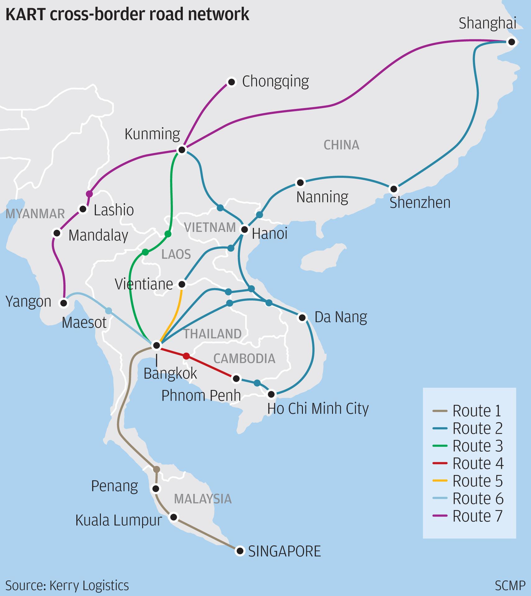 E Commerce Site Map: Logistics Firms Push Regional Truck Networks