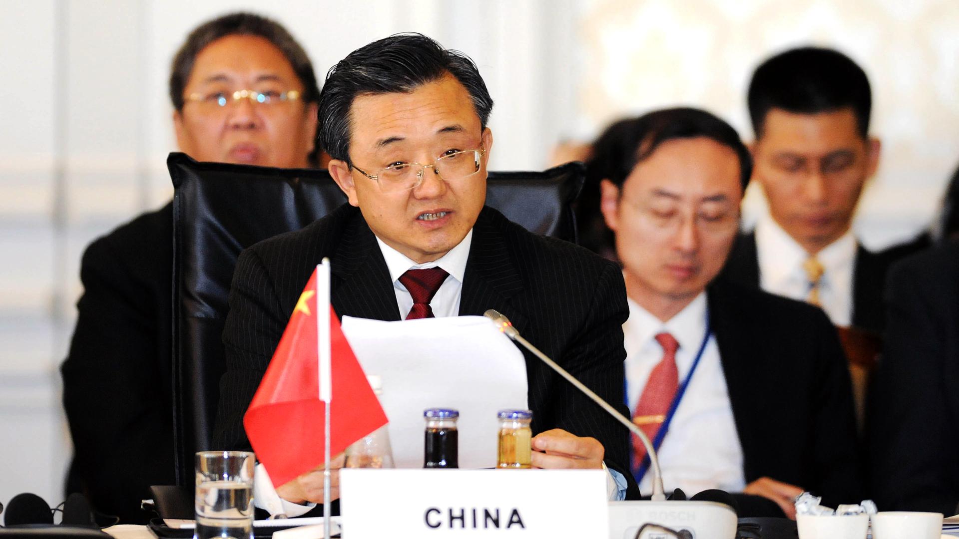 Xinhua Us Debt Liu Xhenmin