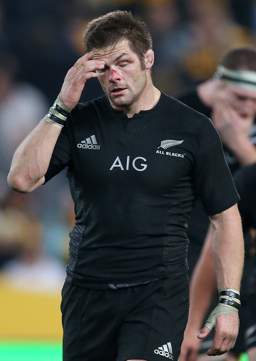 Richie McCaw wonders what went wrong to earn him only his 15th defeat    Richie Mccaw Abs
