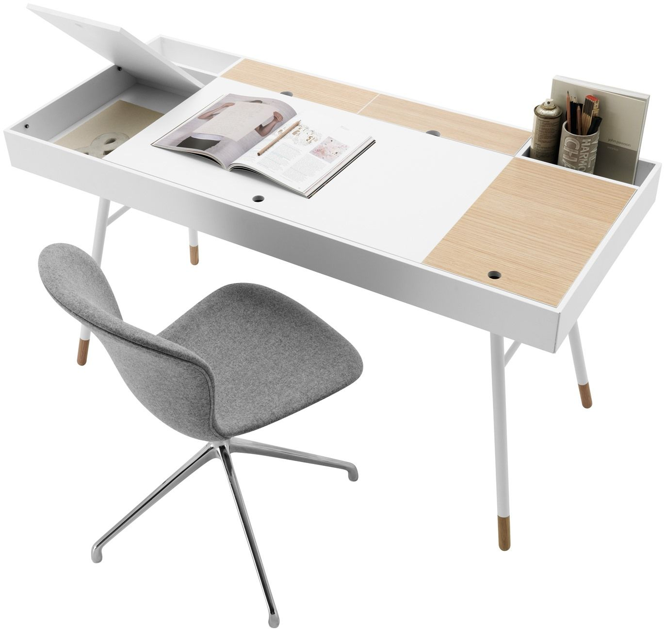 Create the perfect hi tech ergonomic home office