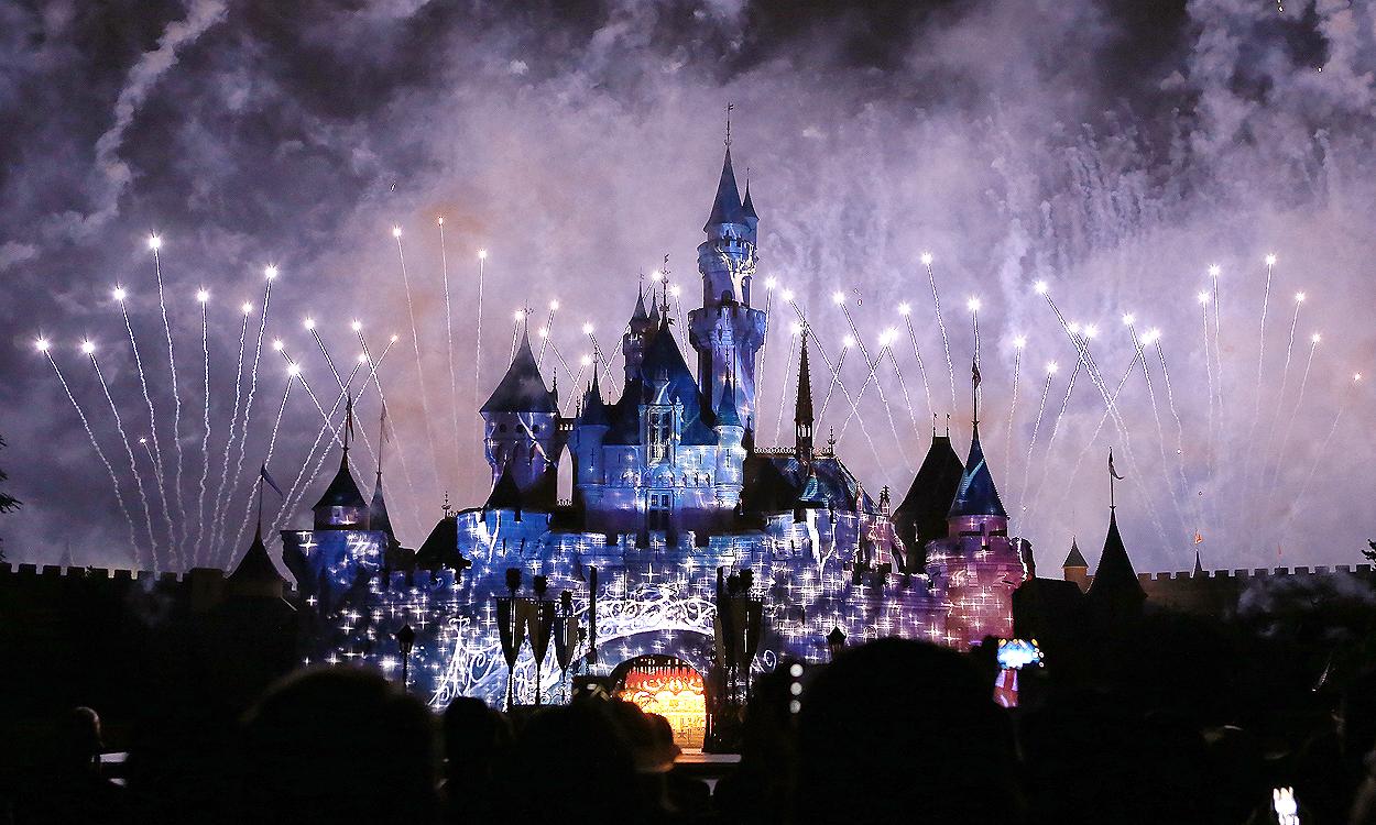 Image result for disney fireworks hong kong