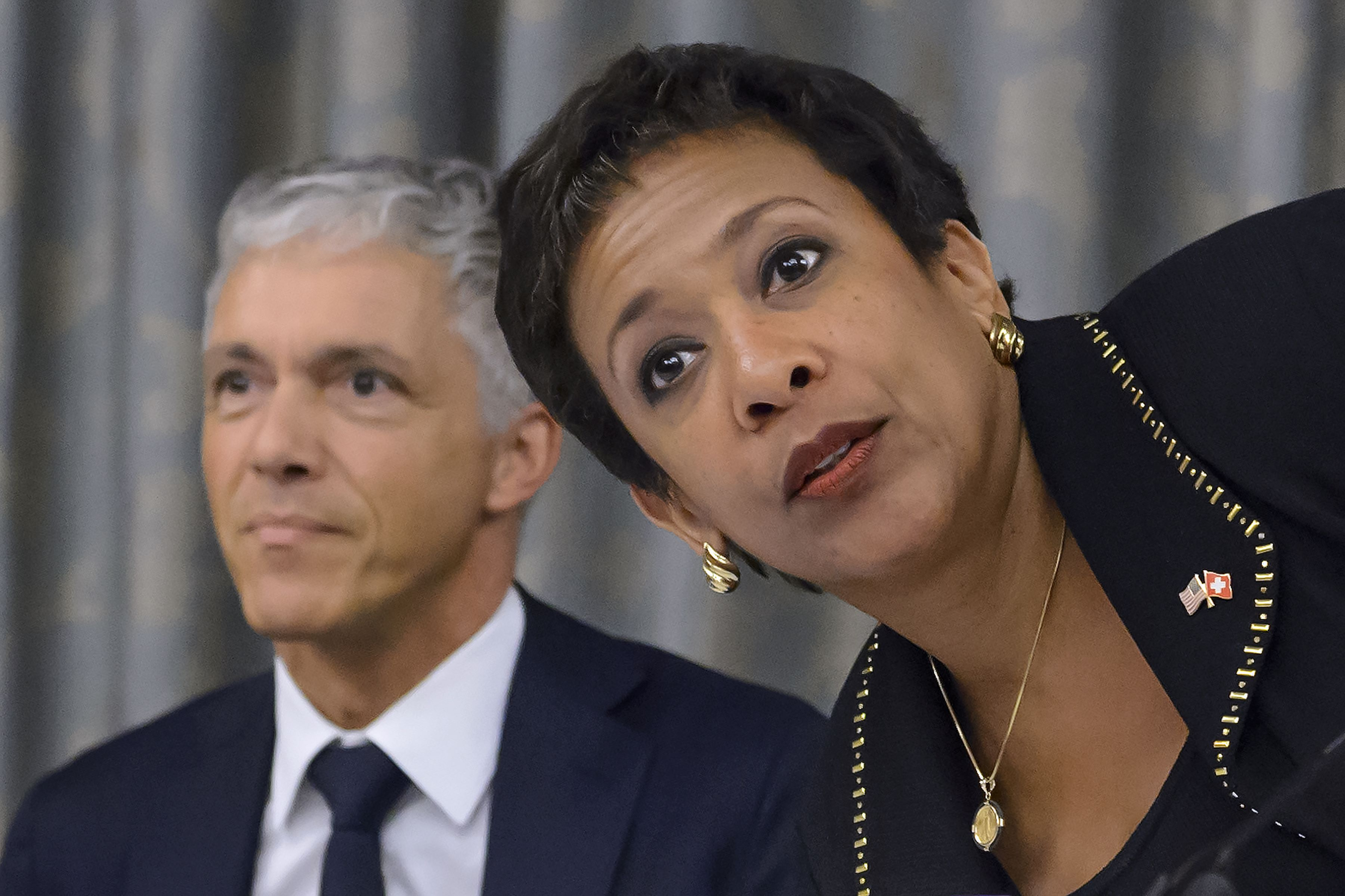 us attorney general loretta lynch more arrests expected in fifa us attorney general loretta lynch and her swiss counterpart michael lauber provide a joint update on the fifa investigations in zurich photo afp