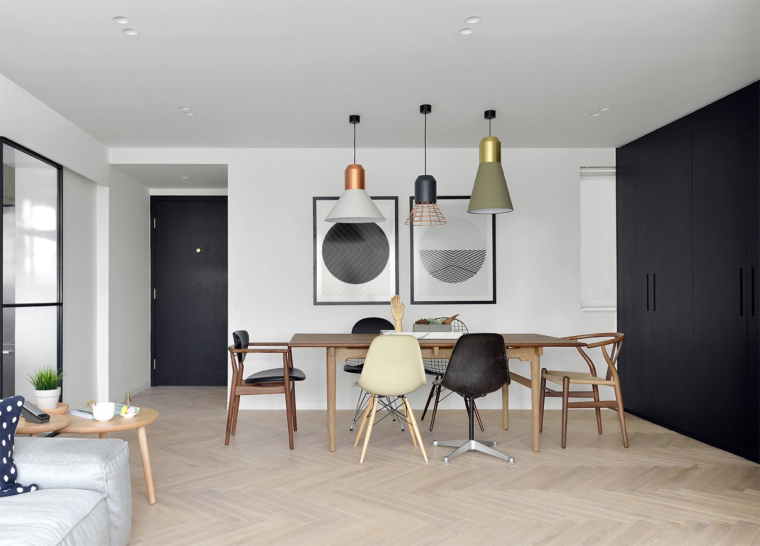 Dining Area The CH327 Table HK43000 Was A 100th Anniversary Edition By Carl Hansen Son And Came From Manks 3 F Factory 1 Yip Fat Street
