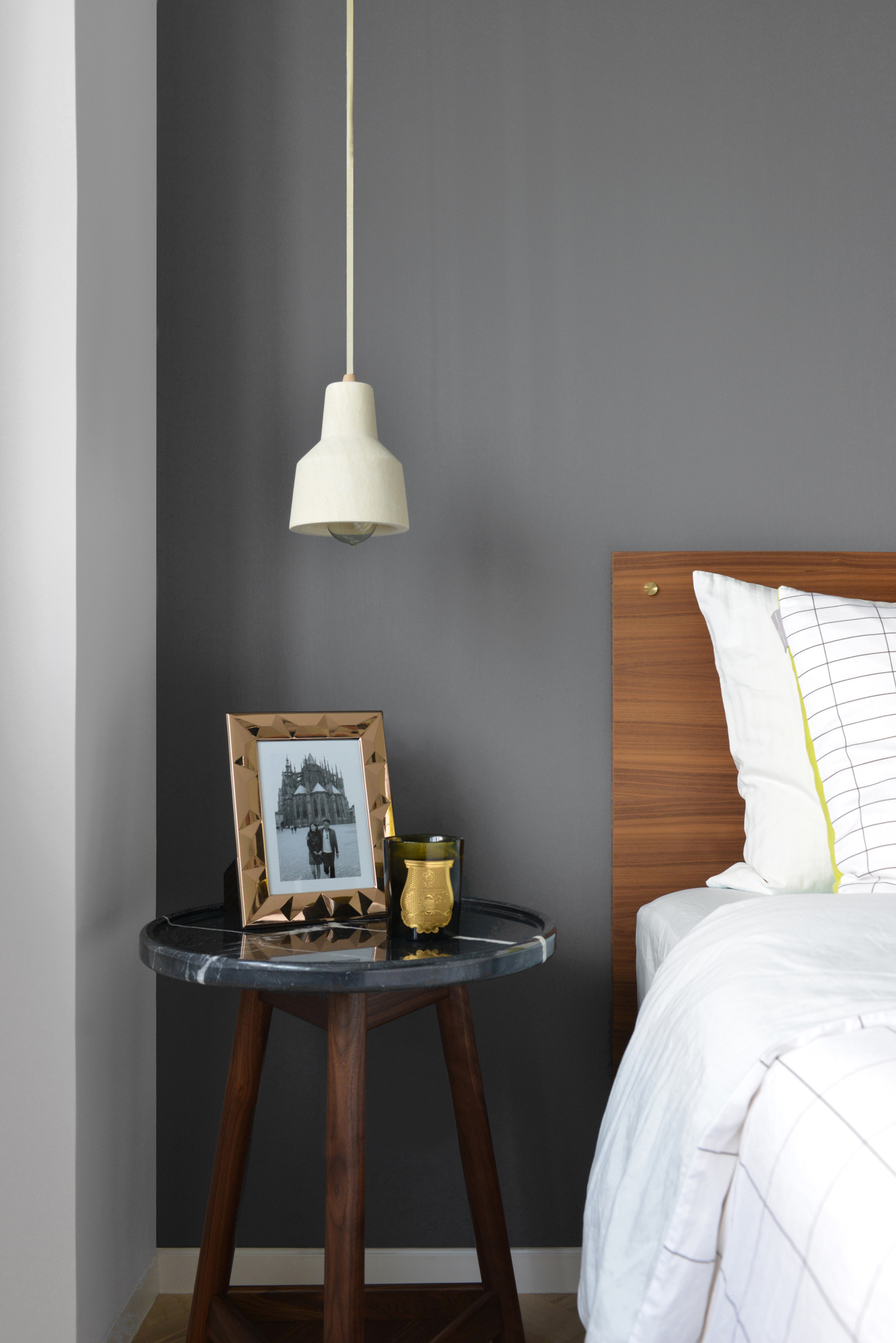 Master Suite Above And Below The Gray Turner Side Table HK9800 Came From Lane Crawford Pendant Lamp HK4000 Australian Lighting