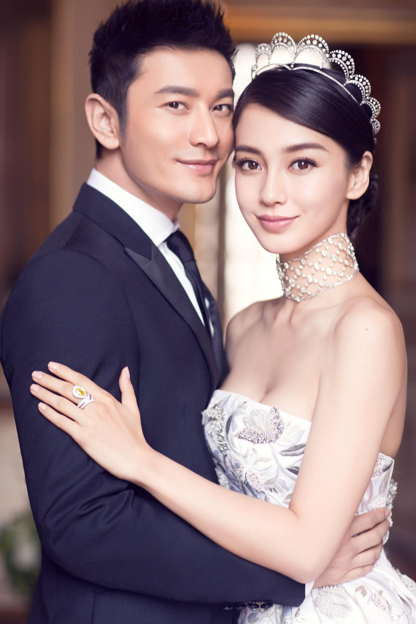Megabucks 'fairy tale' wedding of actor Huang Xiaoming and ... | 1365 x 2048 jpeg 184kB