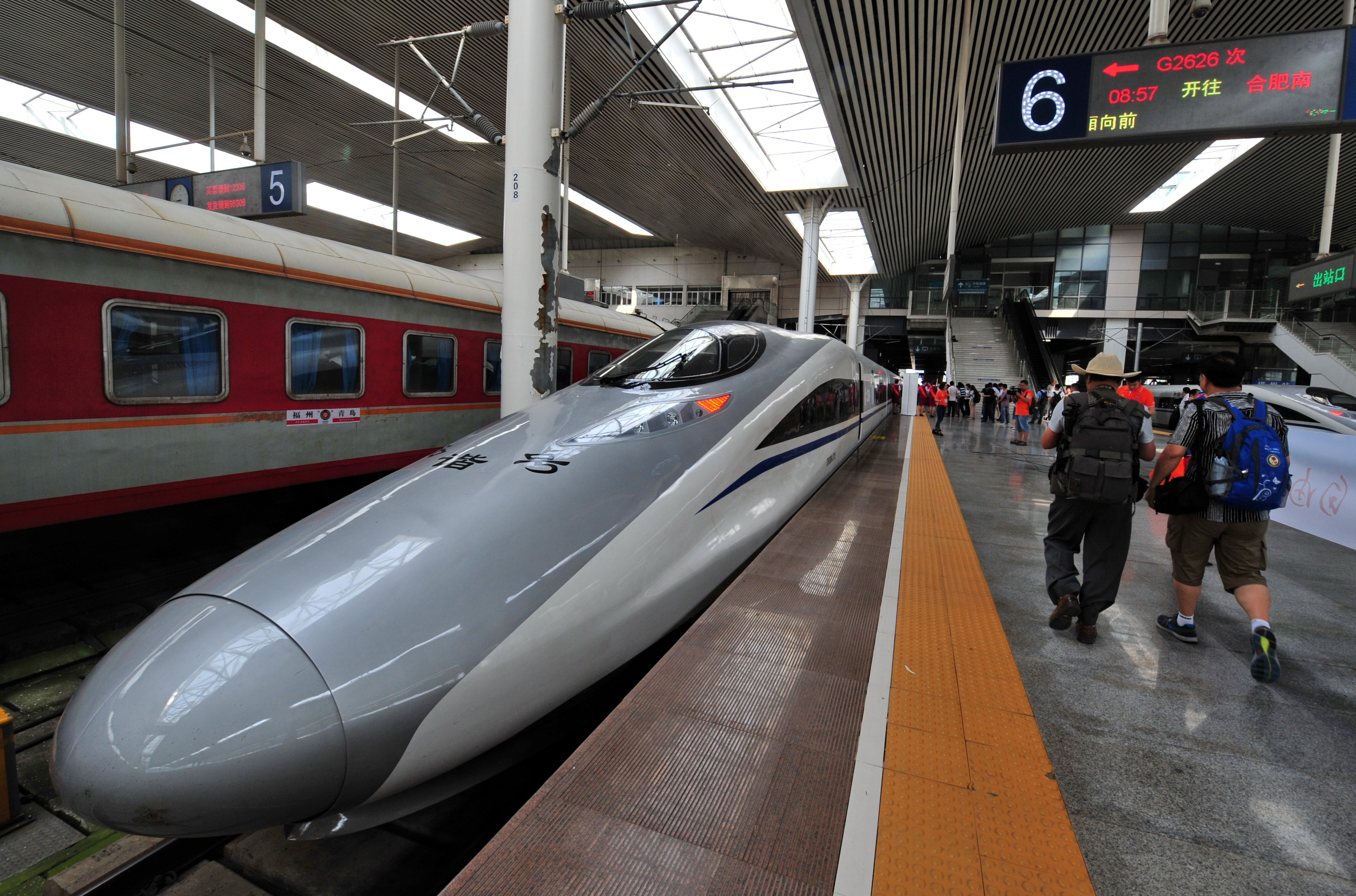 China, Indonesia sign high-speed rail line deal | South ...