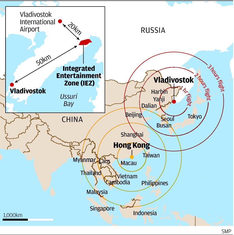 Macau casino scion Lawrence Ho bets big on venture in Vladivostok