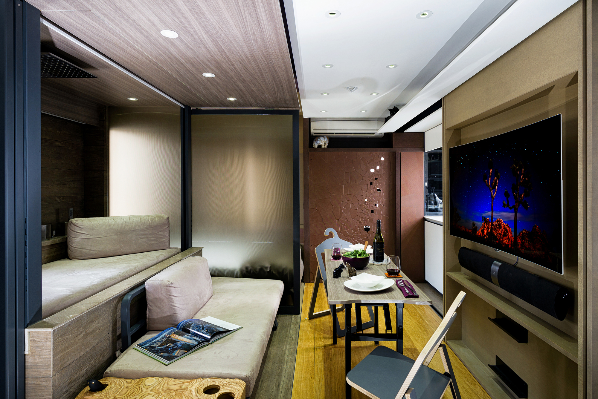 designers work magic in a 309 sq ft hong kong microflat | post