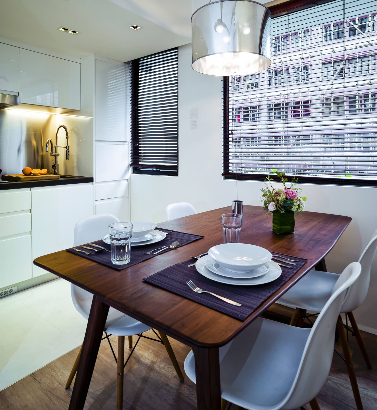 Fungs Kitchen: Architect Makes Small Flat A Tranquil Haven In Heart Of
