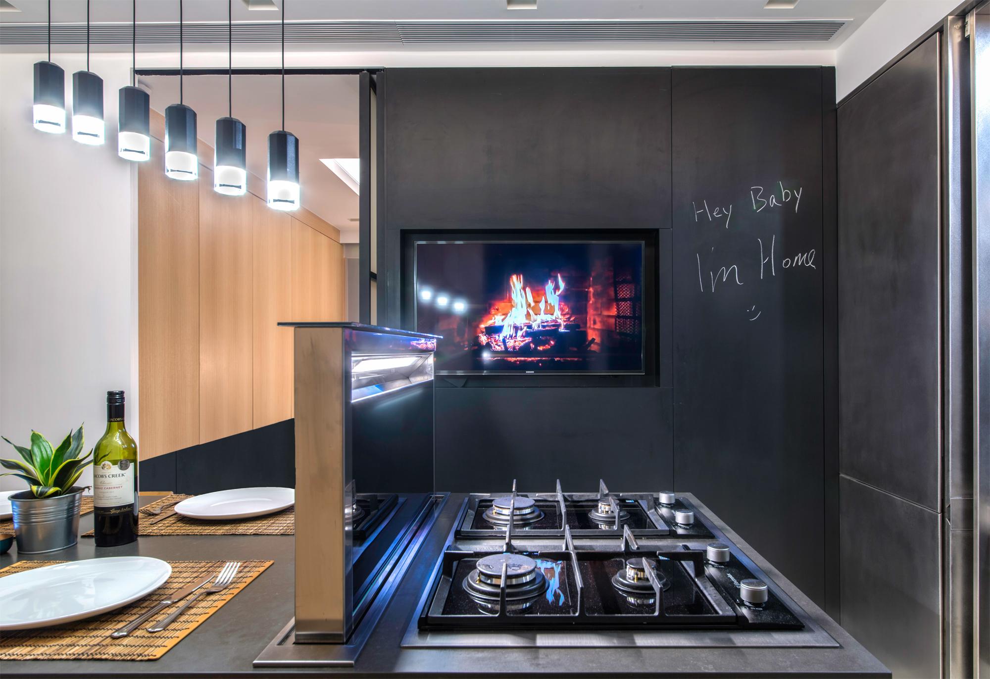 how hong kong walk up flat became a hi tech rooftop retreat post