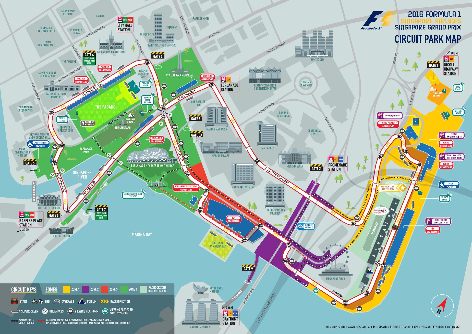 Ferrari South Bay >> Singapore Grand Prix guide: from Zone 4 Walkabout tickets to facts about the track | South China ...