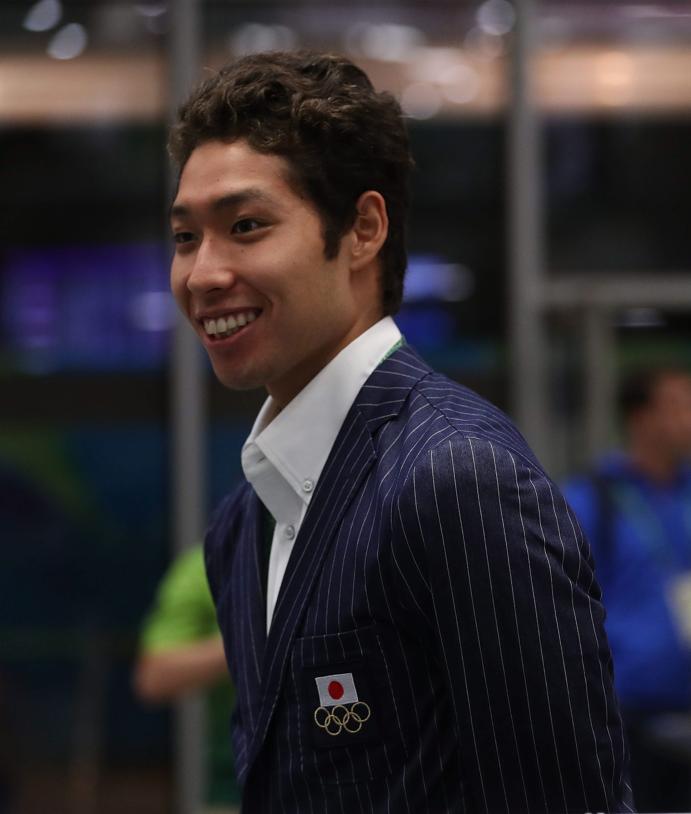Olympic pressure fuels me, says Japan swim star Kosuke ...